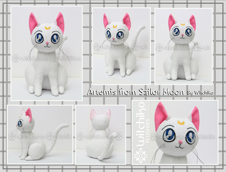 Artemis Plush::::: by Witchiko