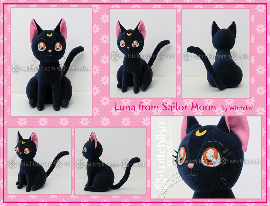 Luna Plush:::::: by Witchiko