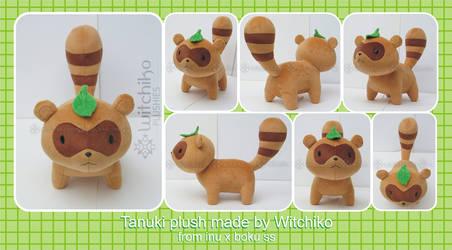Tanuki plush:::: by Witchiko