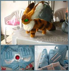 Nausicaa's cosplay process:::::: by Witchiko