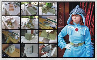 Nausicaa's Cosplay Process IV
