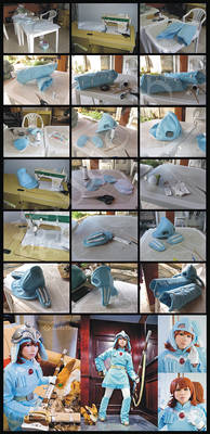 Nausicaa's Cosplay Process V