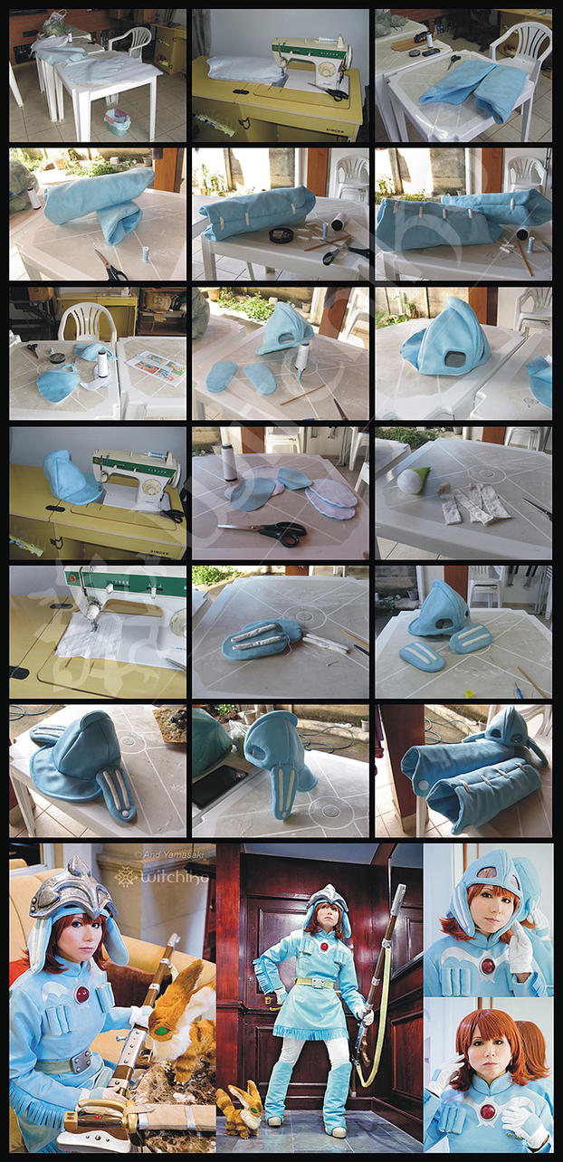 Nausicaa's Cosplay Process V by Witchiko