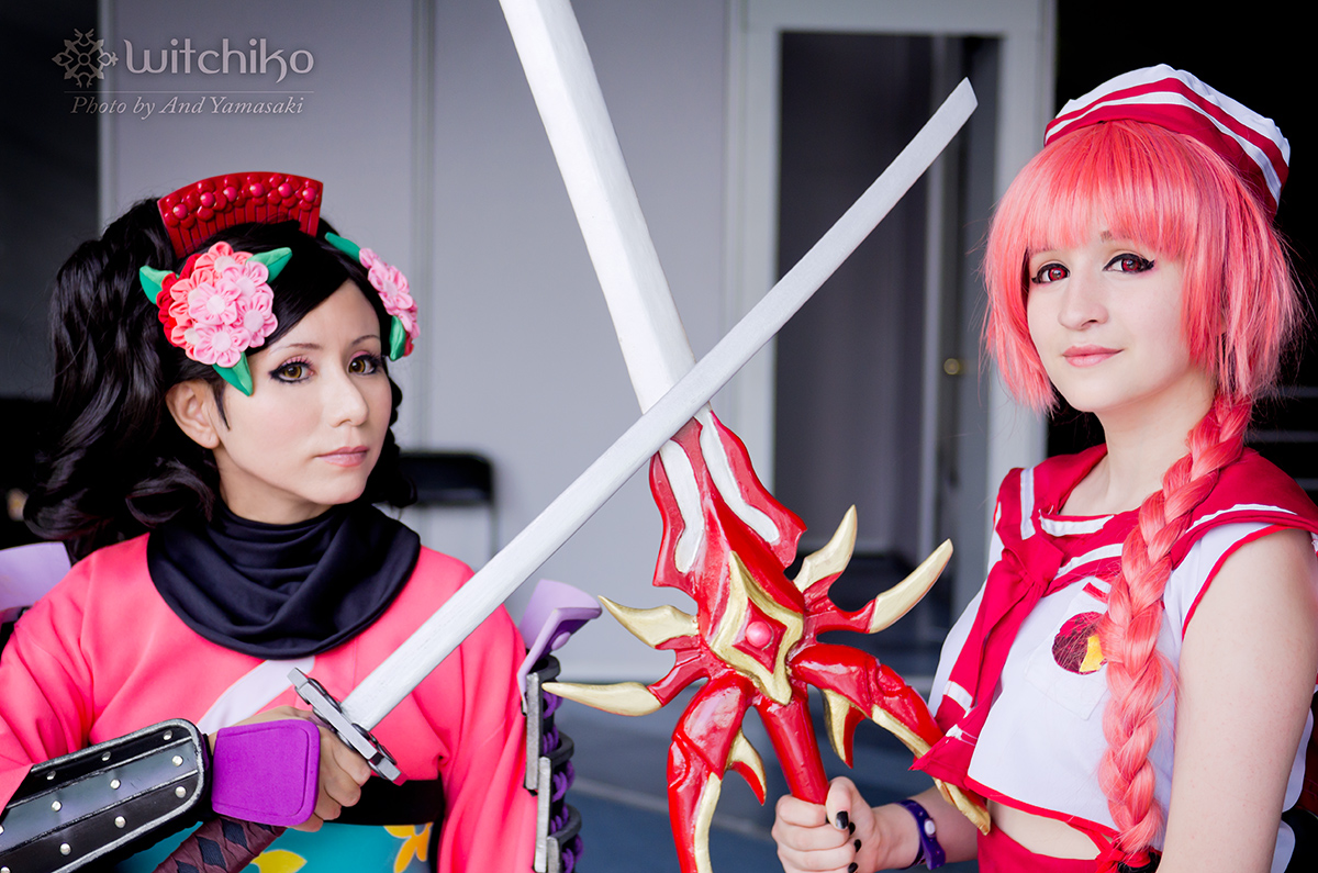 Momohime and Hikaru by Witchiko