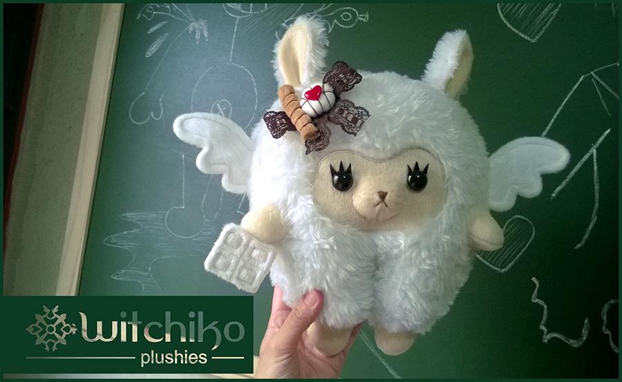 Alpaca White Chocolate by Witchiko