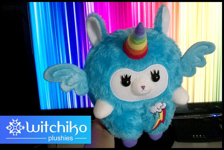 Alpaca Rainbow Dashcorn by Witchiko
