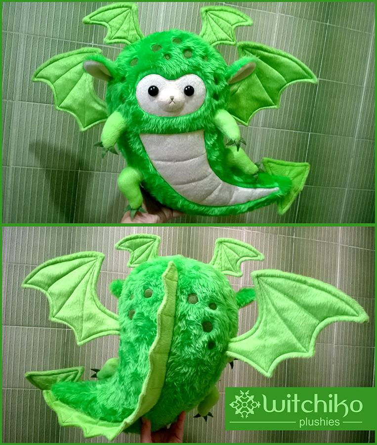 Alpaca Dragon by Witchiko