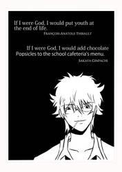 If I Were God...