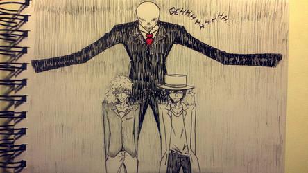 Slender Man by GeorgeRosvall