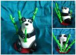 Panda Topper by FelineMyth