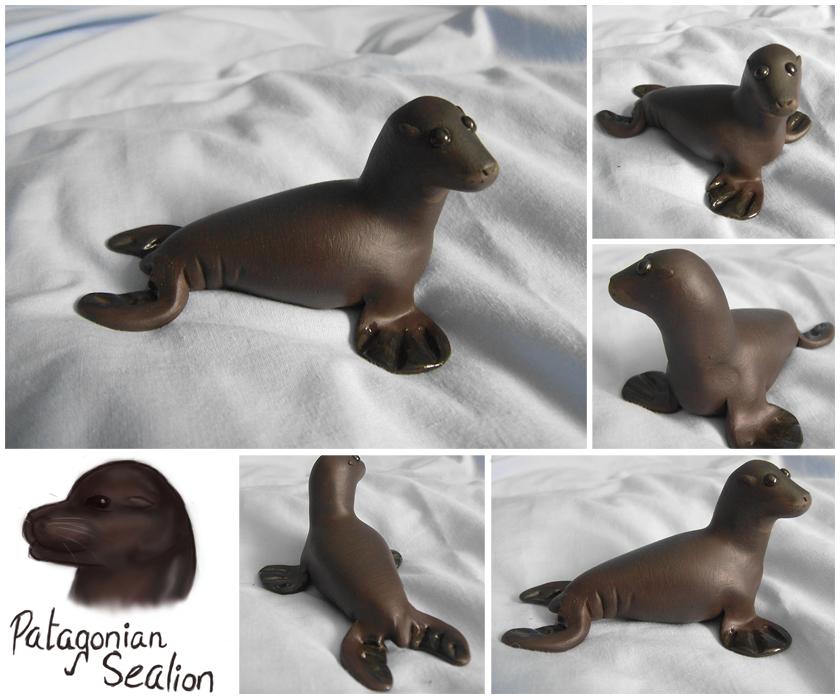 Patagonian Sealion by FelineMyth