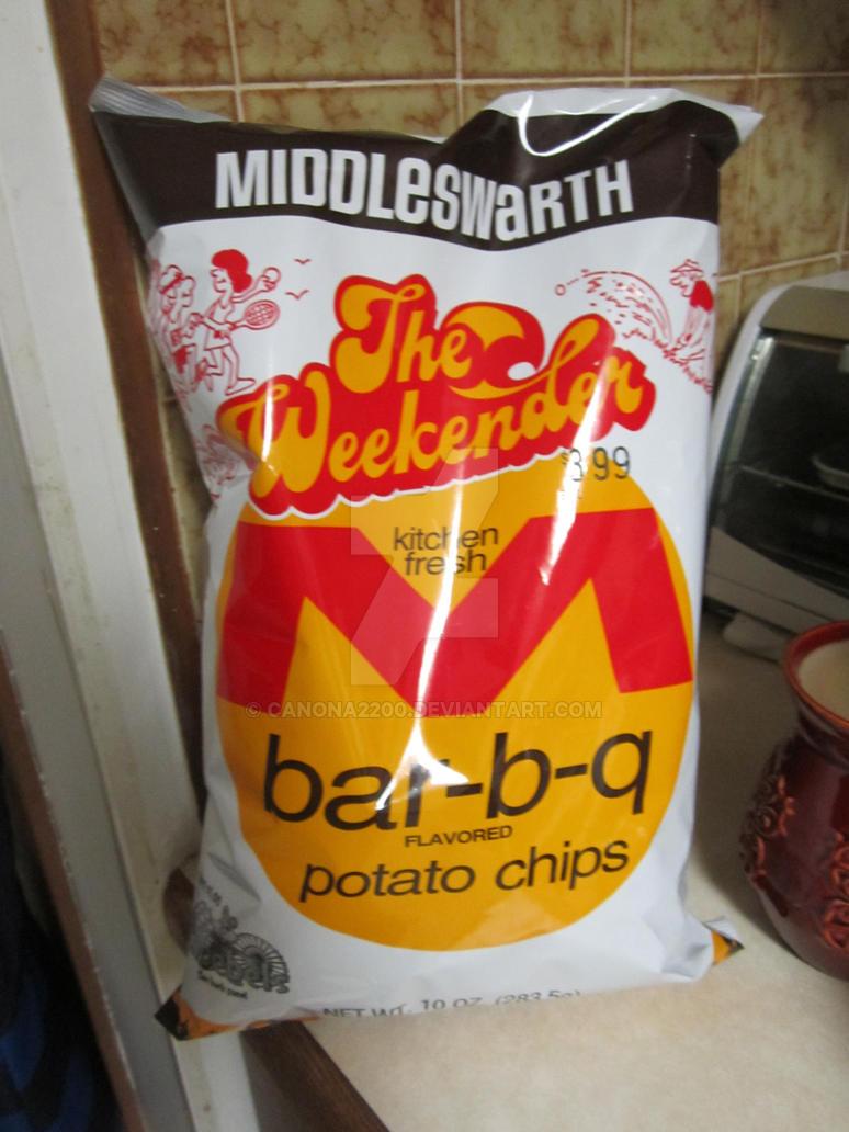 Middleswarth bbq chips