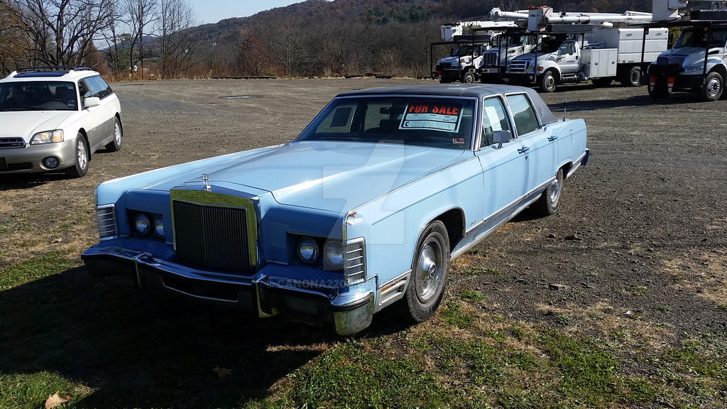 1978 Lincoln Continental Towncar By Canona2200 On Deviantart