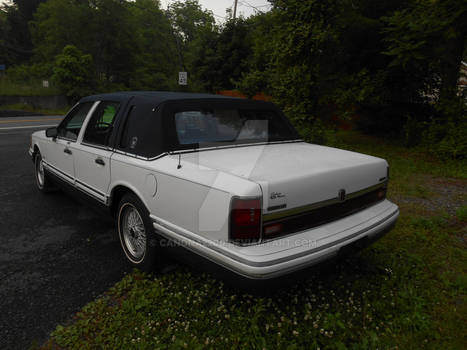 1993 Lincoln Town Car Presidential Edition Rear