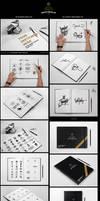 SketchBook / Calligraphy Book Mock-ups