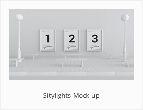Sitylights Mock-up Download Mockup Free Graphicriv by SynthDesign