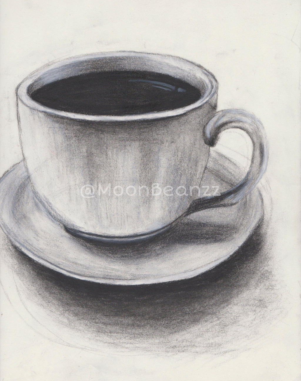 how to draw a realistic teacup