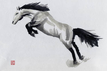 Horse by glennkenobi