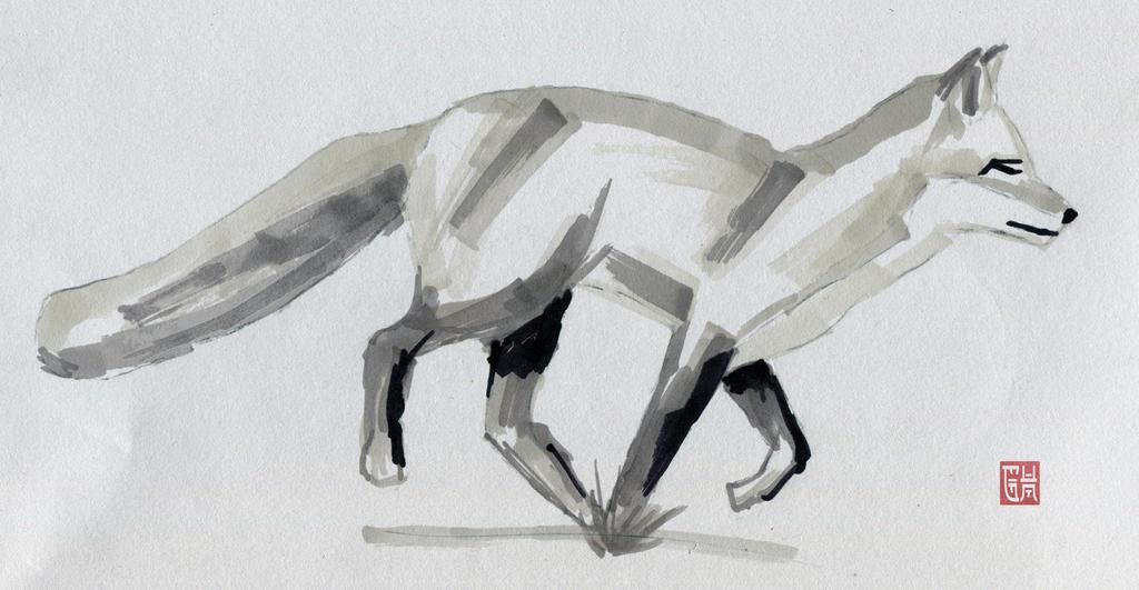 Fox by glennkenobi