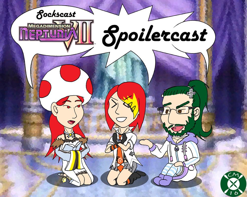 Sockscast Megadimension Neptunia Spoilercast Cover by Carmichael-Micaalus