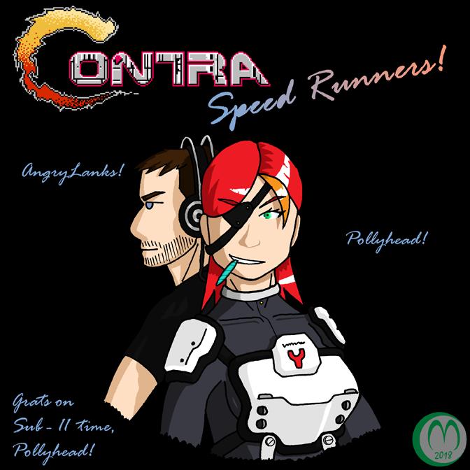 Sub 11 Contra Run Fan Art by Carmichael-Micaalus