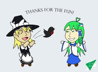 Marisa y Sanae Twitterbot