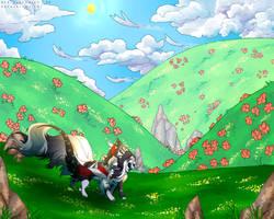 Walking Through The Flower Fields [KEM ACTIVITY]