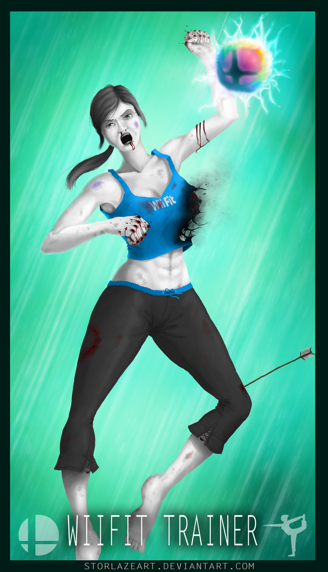 Smash Brothers : WiiFit Trainer by StorlazeArt