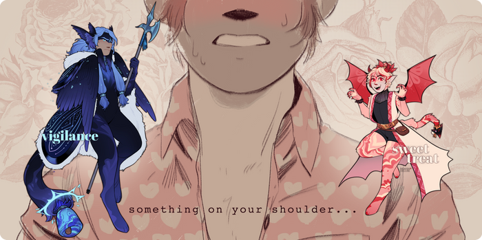 CLOSED | On Your Shoulder (auction!)