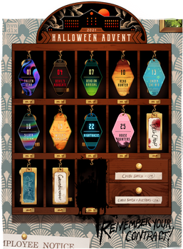 [SOLD OUT!] HALLOWEEN ADVENT Y6