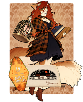 ADVENT DAY 19 | WITCH'S FAMILIAR