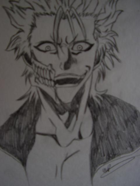 [DISCUSSION] Favorite piece you've done so far Bleach__grimmjow_by_reikoko