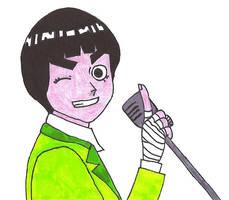 Rock Lee: 70's Lounge Singer? by Revenant666