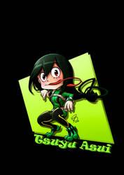 Chibi - Tsuyu Asui by ryster17