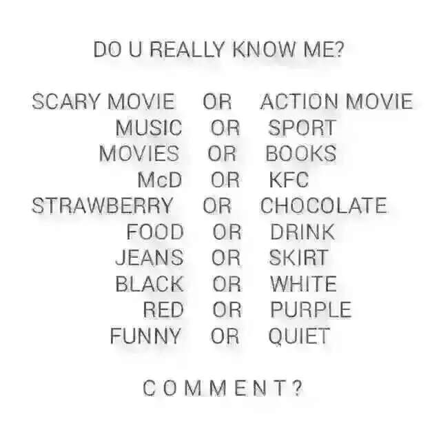 Do You Know Me Questions: Fallen Angel Needs Love Too