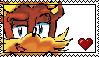 Antione D'Coolette stamp by fluffyorangebat