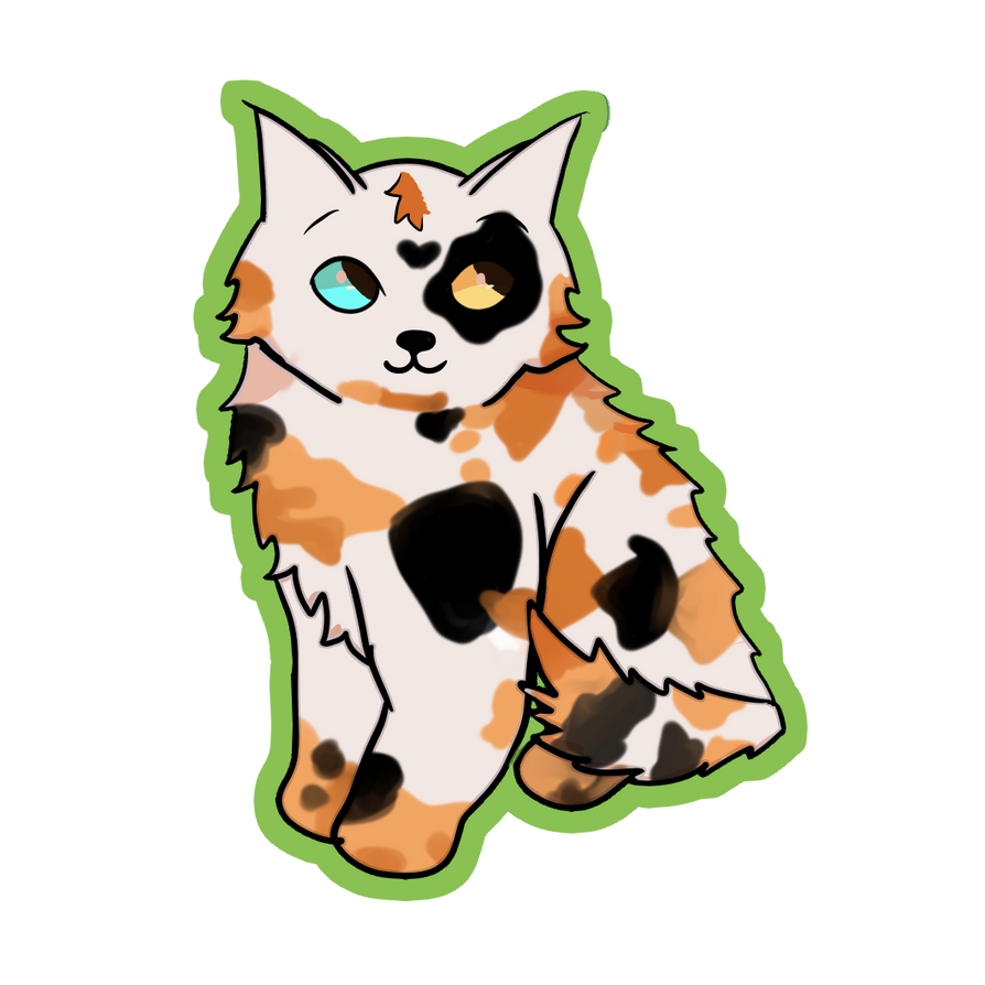 Calico Kitty by Legally-Vic