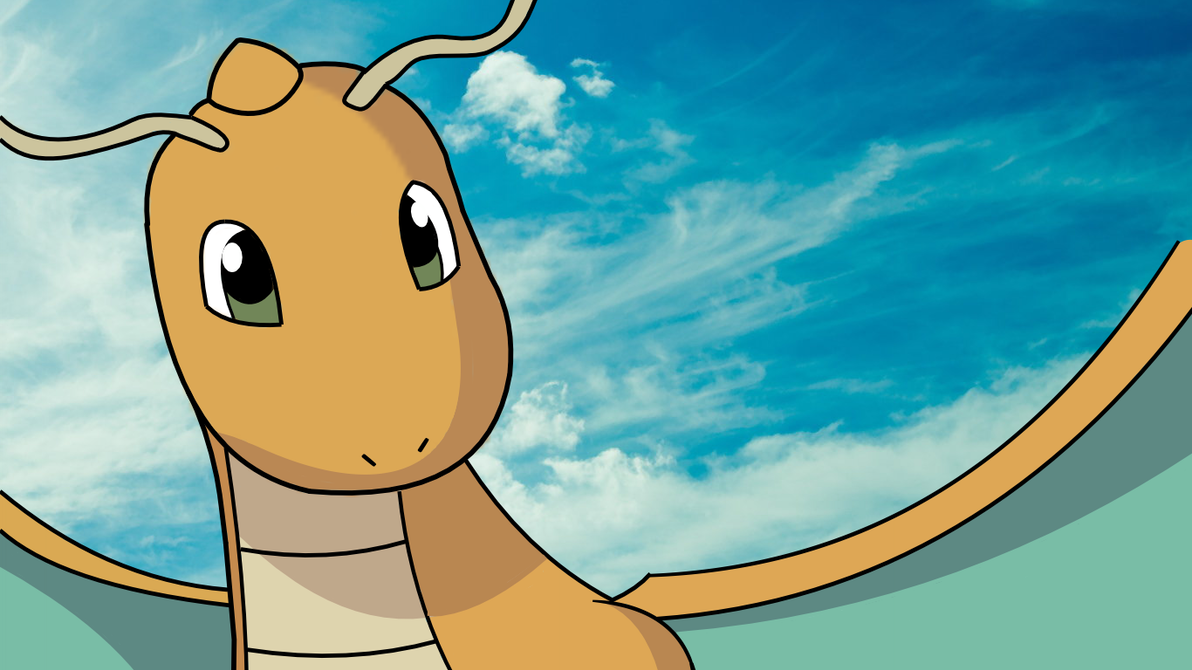 Dragonite - Pokemon - Wallpaper by midorisep on DeviantArt
