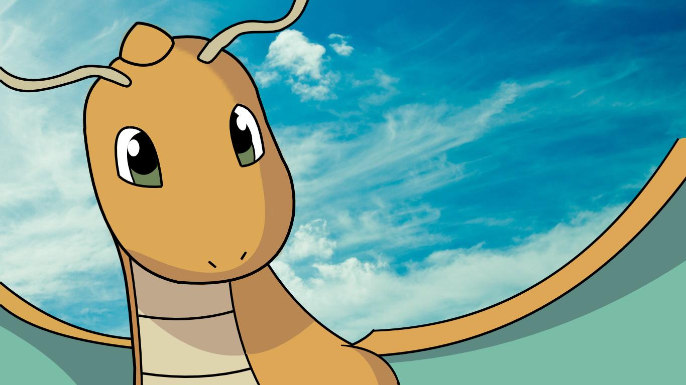 dragonite pokemon wallpaper the