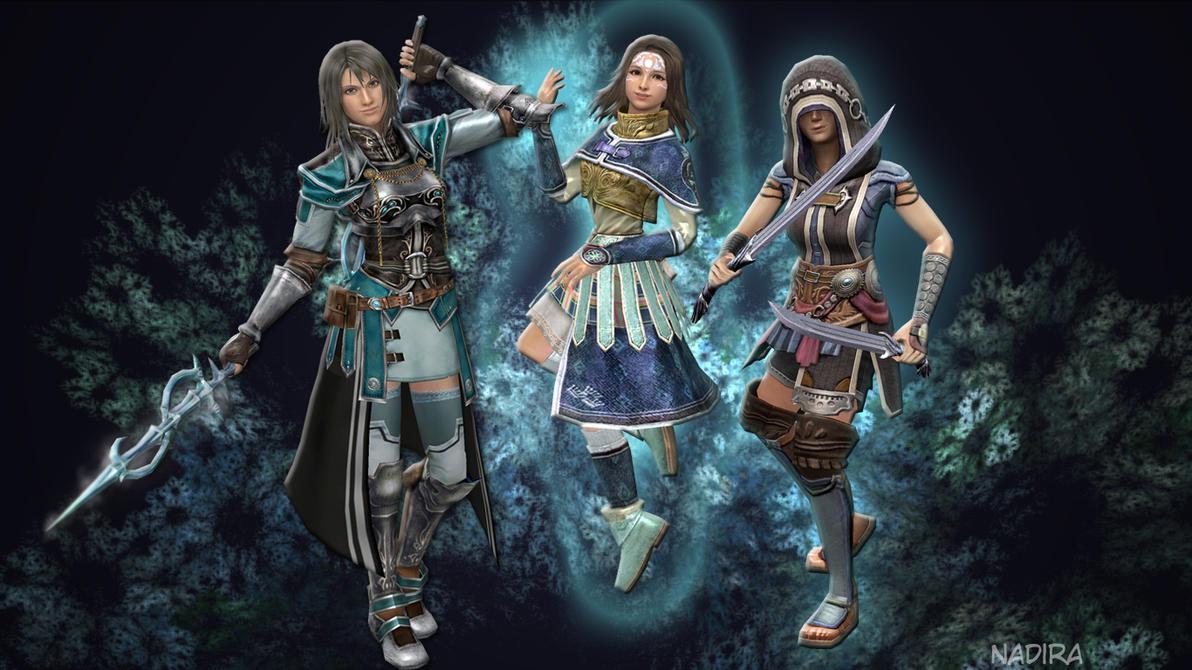 Girls of Athlum by Sorceress-Nadira