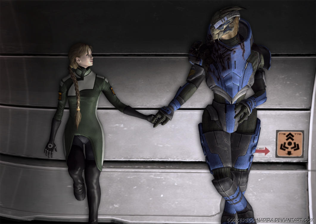 One Turian Kind Of Woman by Sorceress-Nadira