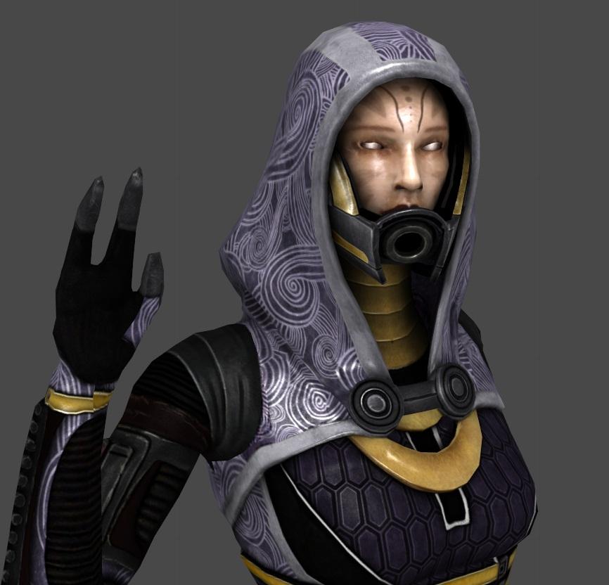 WIP - Tali unmasked by Sorceress-Nadira