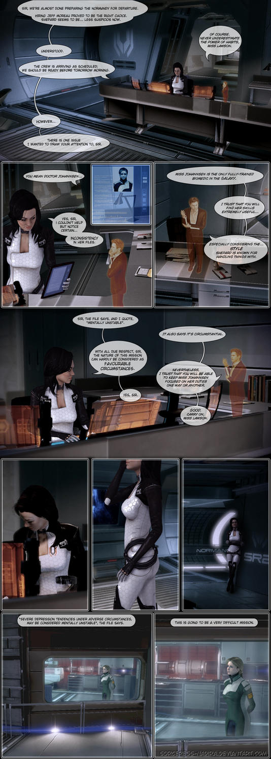 Biomedic's Log - comic entry 1 by Sorceress-Nadira