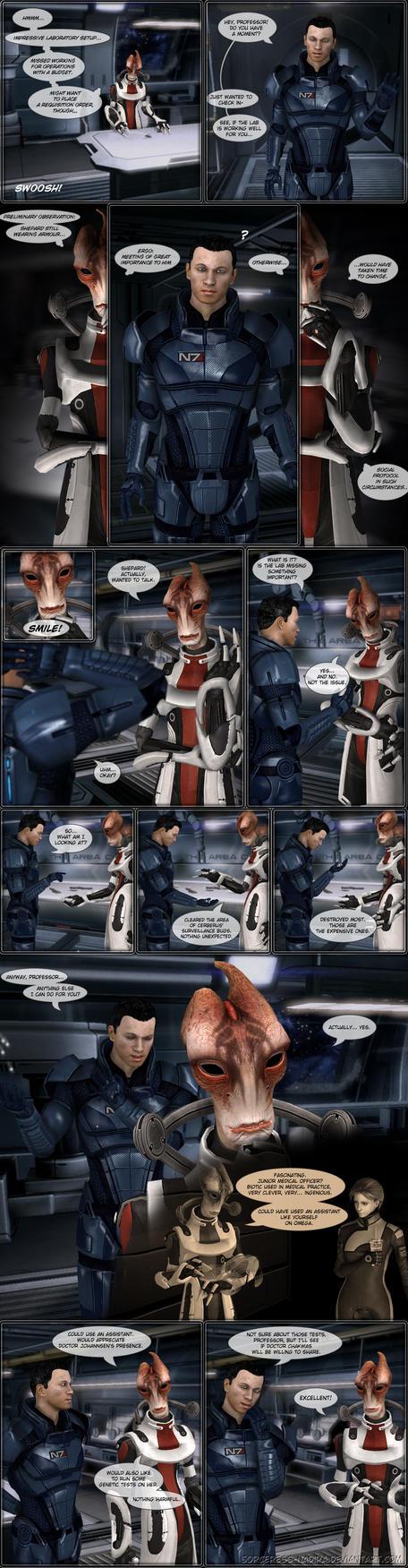 Biomedic's Log - comic entry 3 by Sorceress-Nadira
