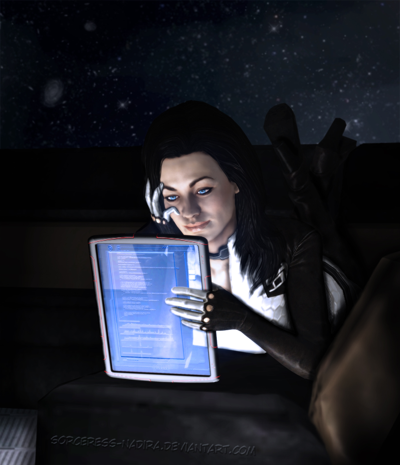 Midnight lecture by Sorceress-Nadira