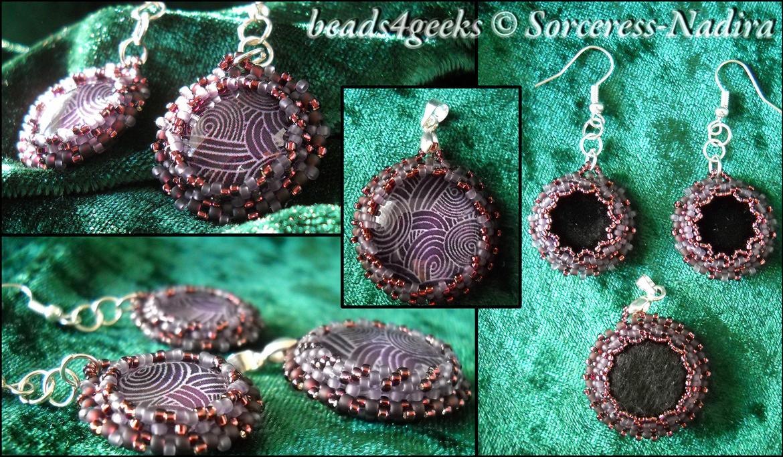 Tali-inspired jewellery set by Sorceress-Nadira