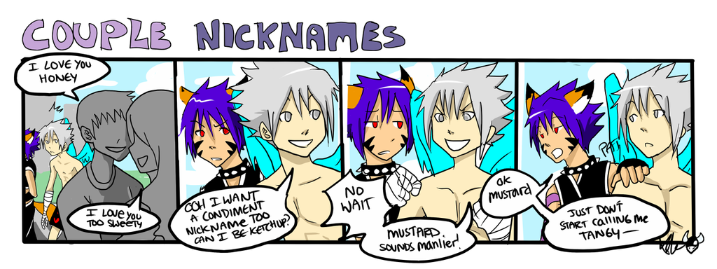 Couple Nicknames By TheK40