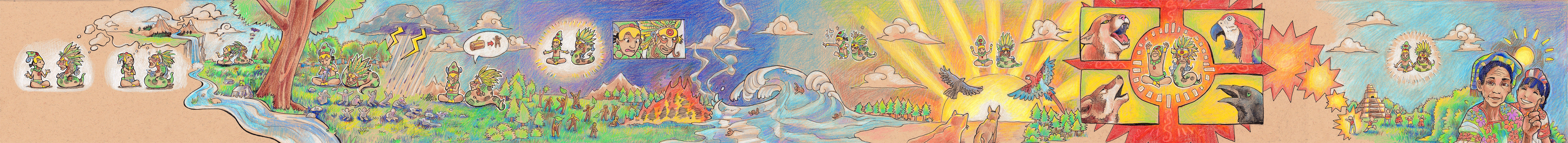 Mayan Creation Myth by TheK40