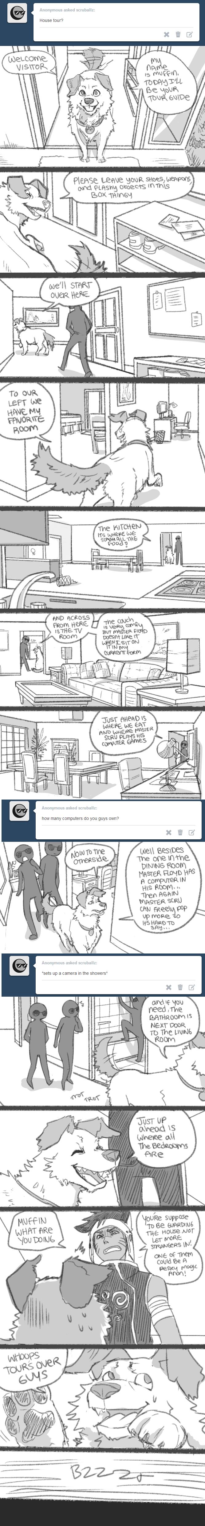 Ask SCRU Tumblr House Tour by TheK40
