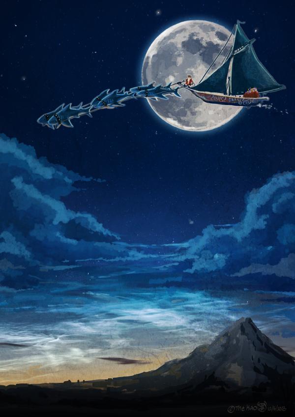 Pirate Santa by TheK40